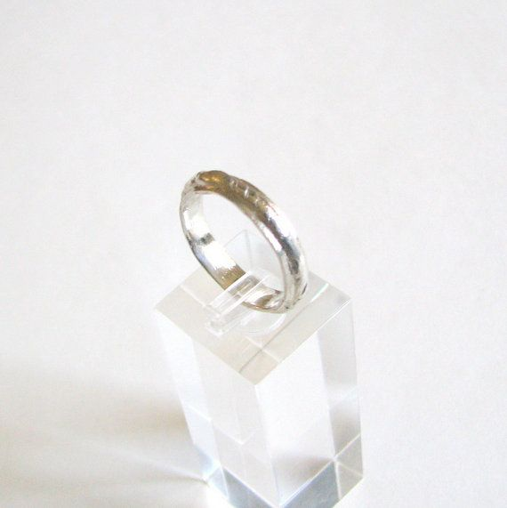 Sterling Silver Wedding Band for Women or Men Size by LulyJewelry, $72.00