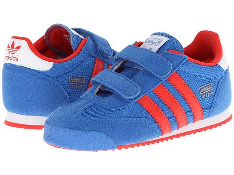 e426d7e17a6e adidas Originals Kids Dragon (Toddler) Bluebird Red Core White - Zappos.com  Free Shipping BOTH Ways