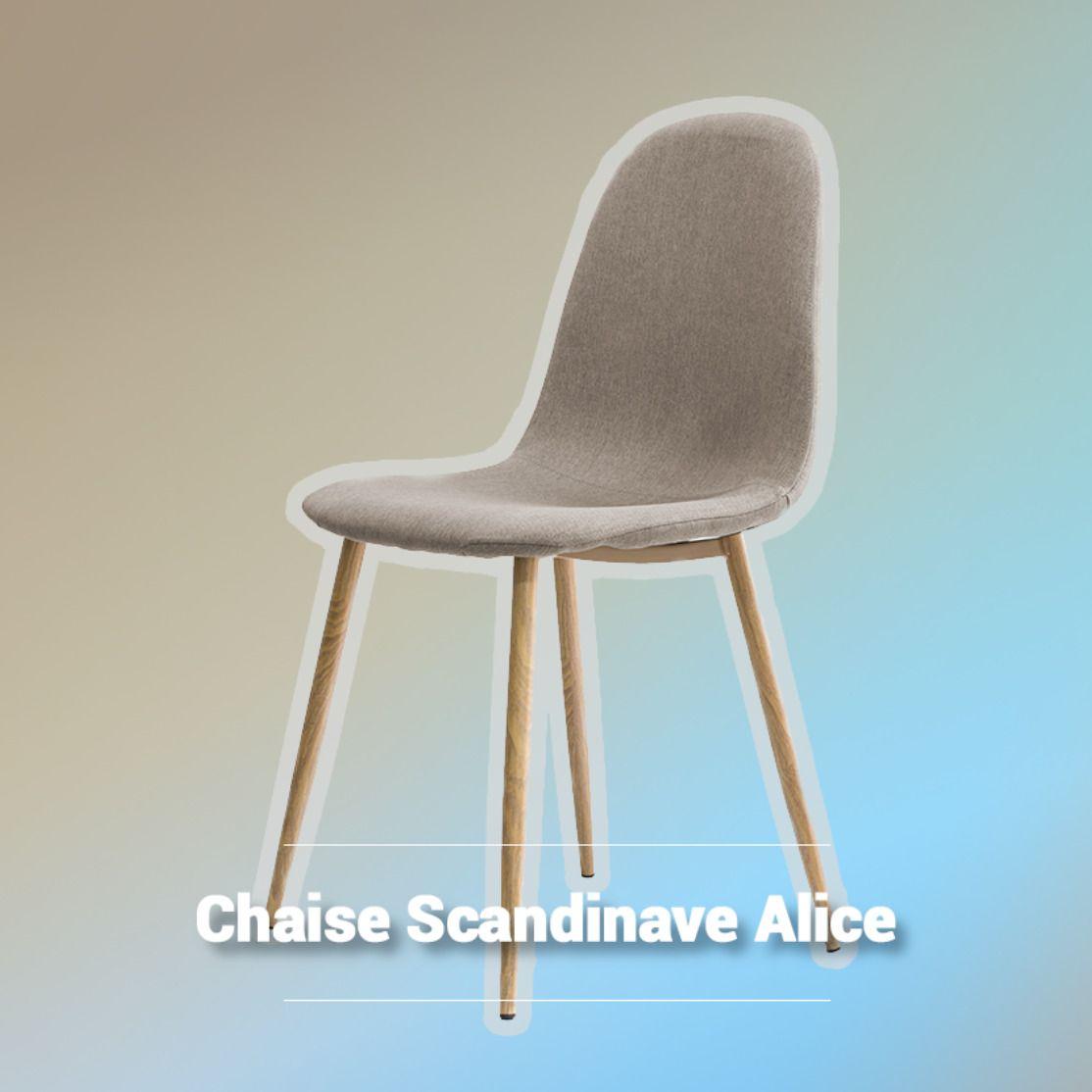 La Chaise Alice A L Assise Confortable Et Le Design Elegant Pur Produit Scandinave Elle Brille Cependant Dans N Importe Chaise Mobilier De Salon Meuble Salon