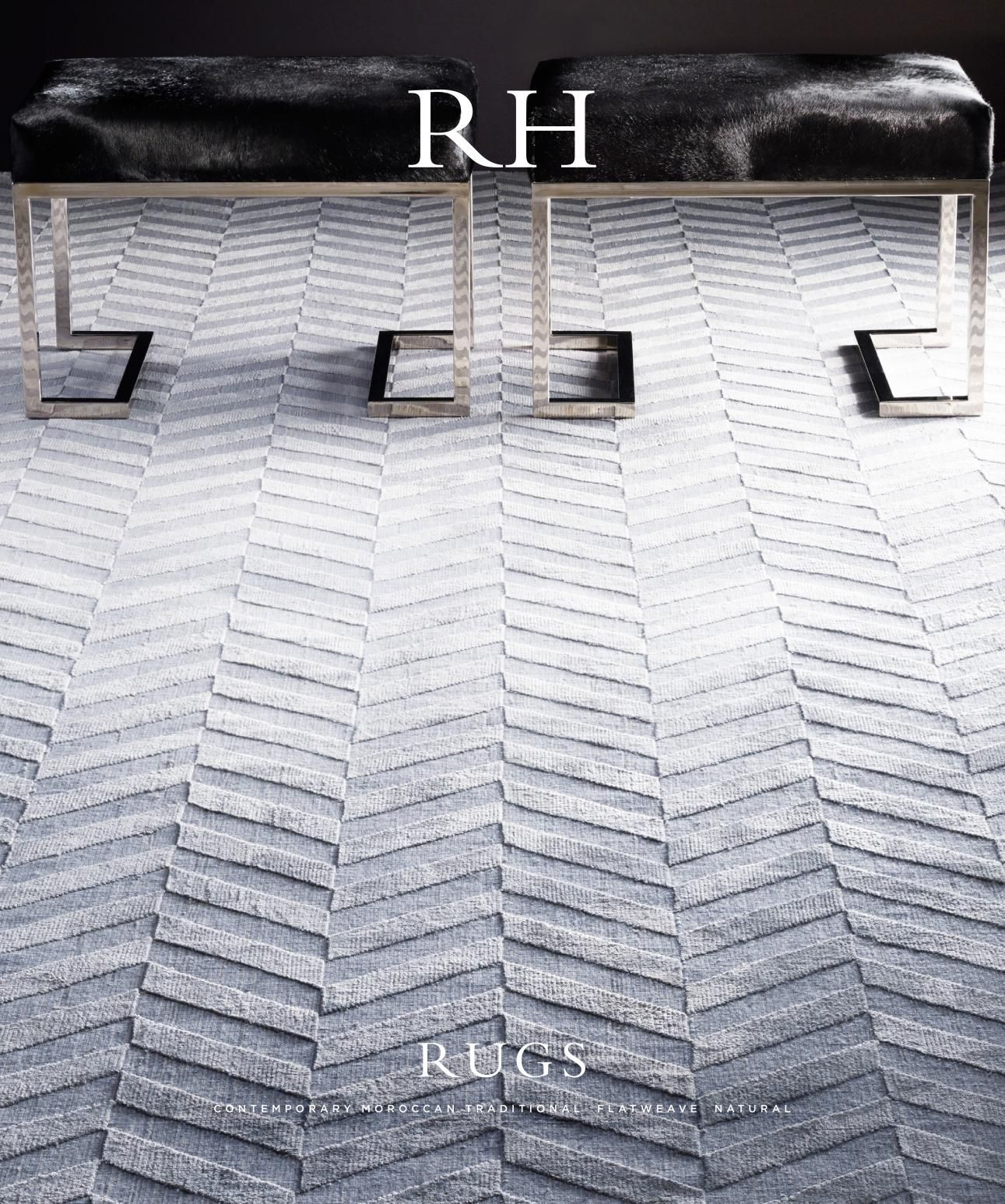 Rh Source Books Restoration Hardware Luxury Rug