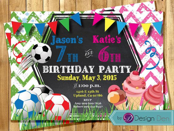 Kids joint birthday party invitations combined party invitation kids joint birthday party invitations combined by bydesignden filmwisefo