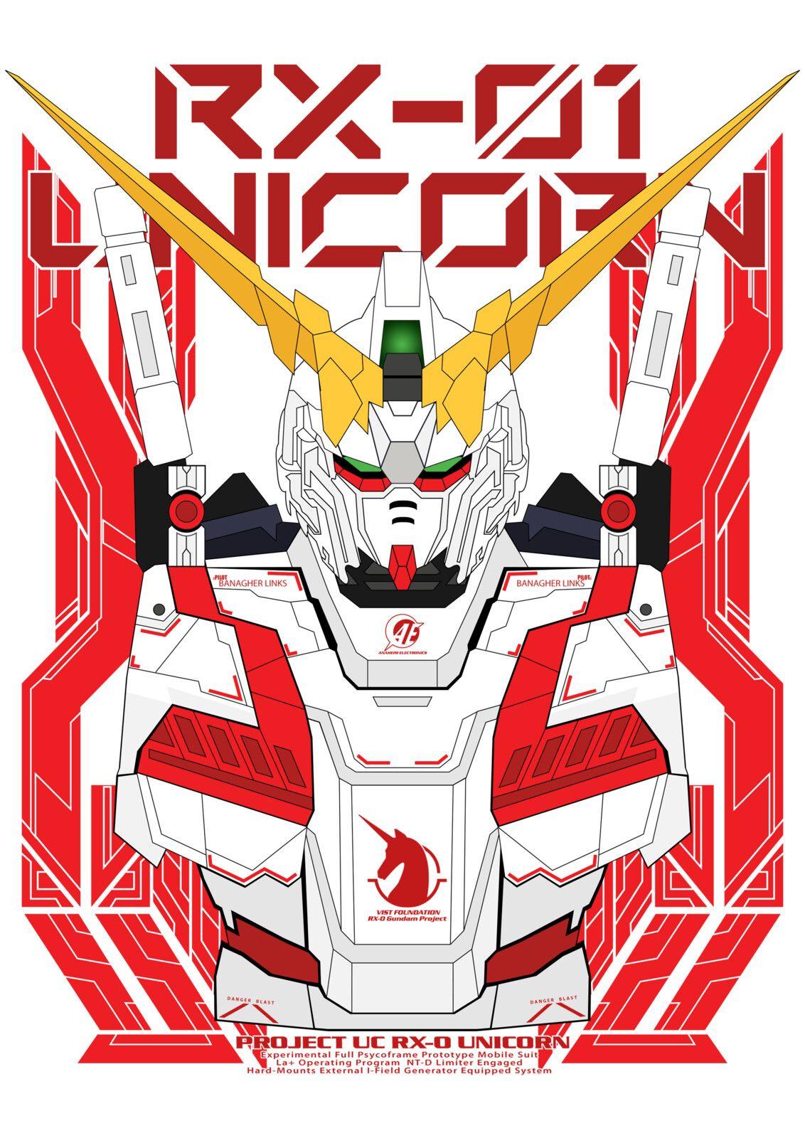 Gundam Unicorn Rx 01 Alfian Dwi On Artstation At Www Artstation Com Artwork Vdx4wn In Gundam Wallpapers Custom Gundam Unicorn Gundam