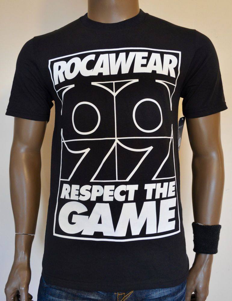 Rocawear 99 Problems Respect The Game T Shirt By Jay Z Black S M