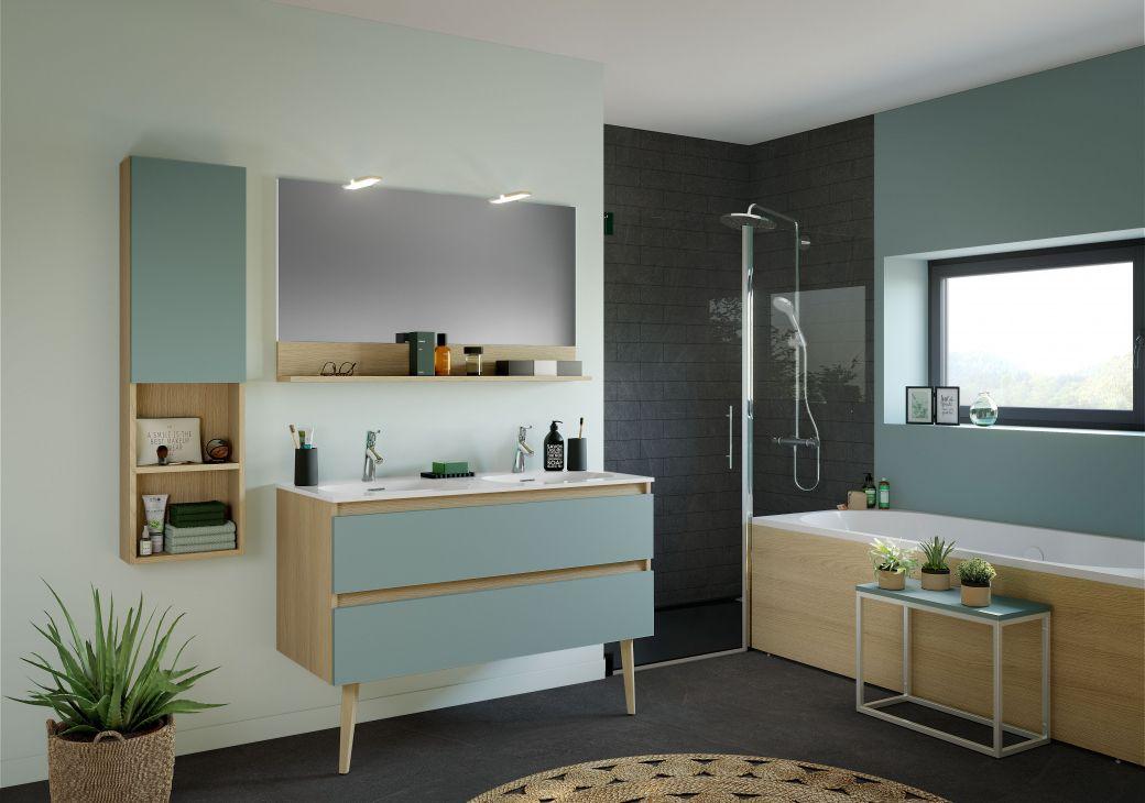 mettez vous au vert salle de bain