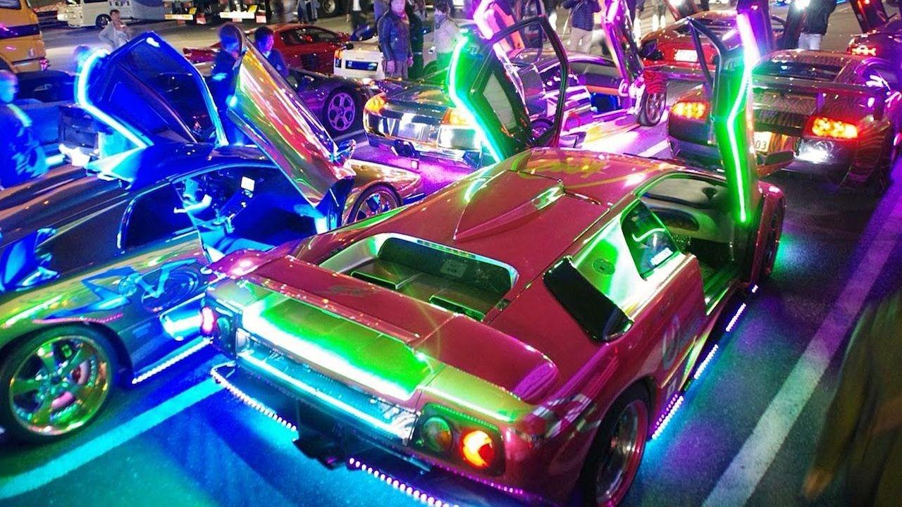 Lighting Up Tokyo Japan S Custom Supercar Crew Super Cars Super Luxury Cars Dream Cars
