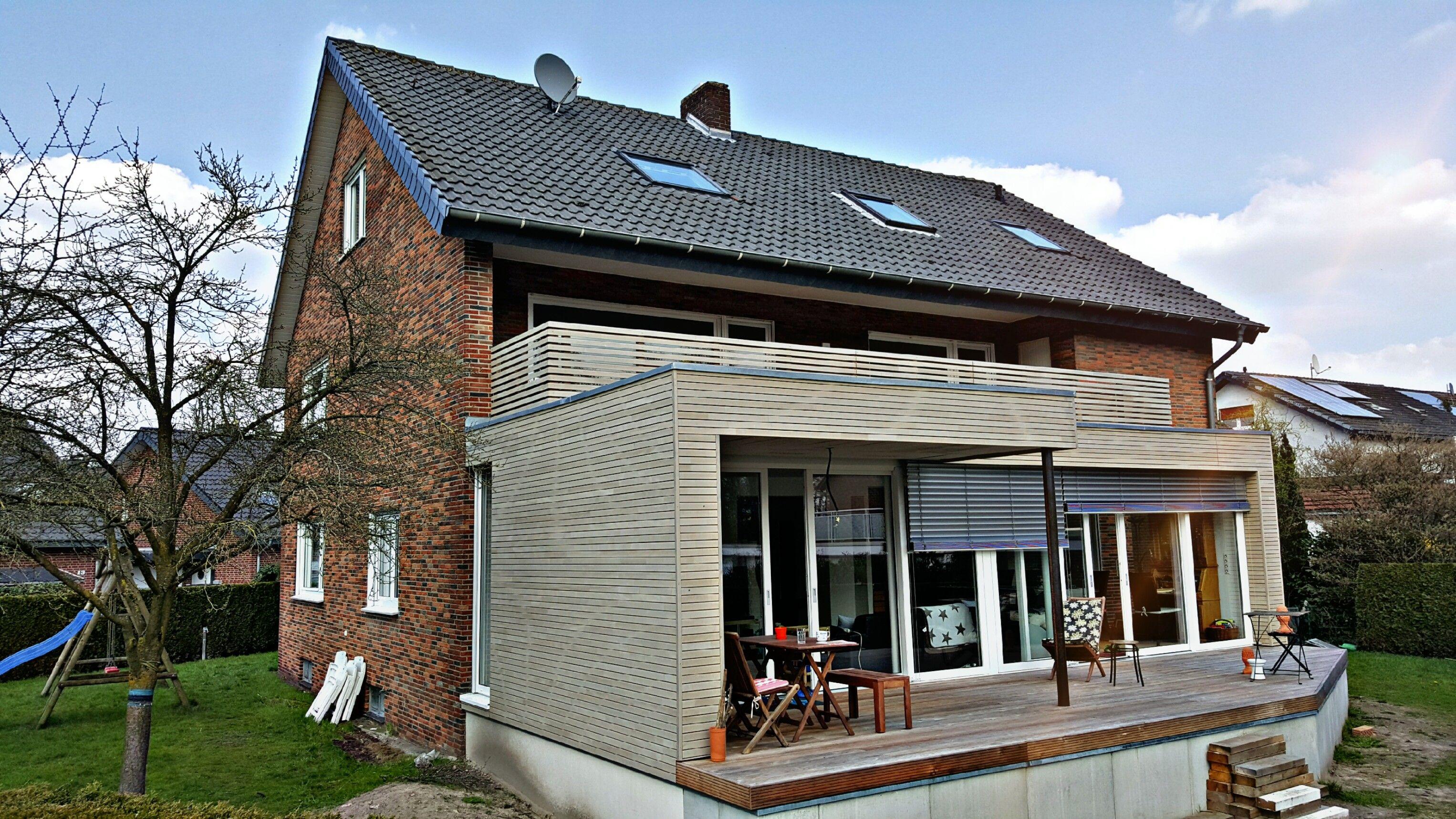 Anbau Im Holzrahmenbau Mit Einer Rhombus Holz Verkleidung 🏠 #mehrplatz  #holzrahmenbau #zimmermann #zimmerei #carpenter #zepteam #bielefeld