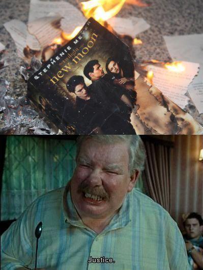 Pahaha Ha Haha Uncle Vernon Kills Me Harry Potter Vs Twilight Twilight Funny Harry Potter Funny