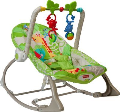 Buy Fisher Price Rainforest Infant To Toddler Rocker At