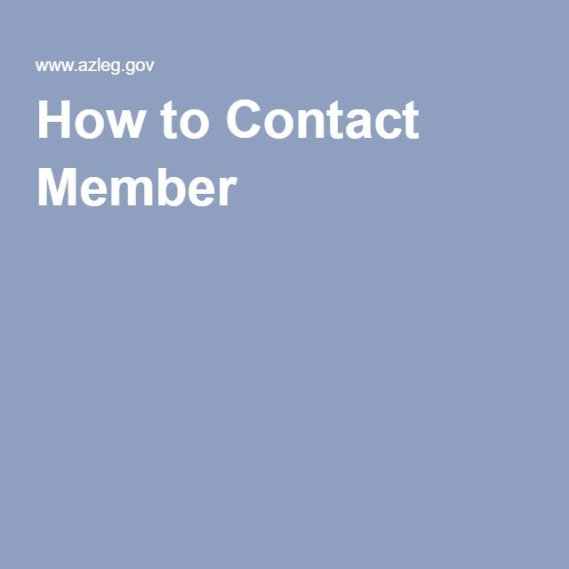 How to Contact Member