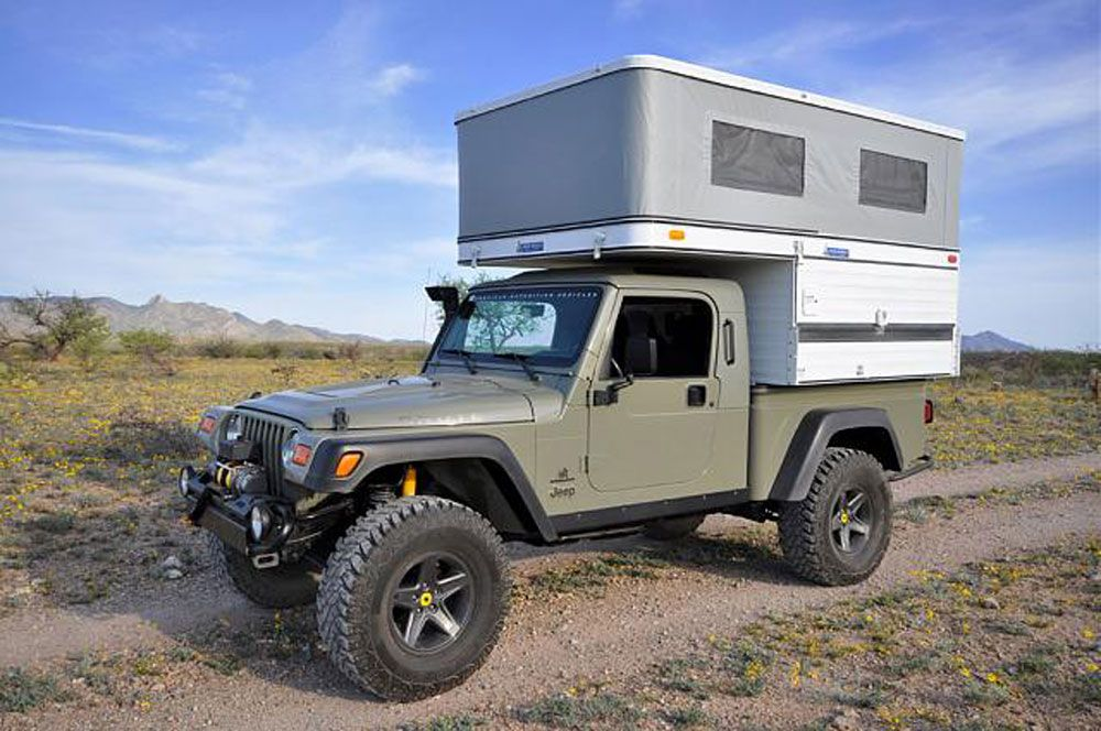 Four Wheel Campers Lj Pop Top Camper Jeeps Wranglers