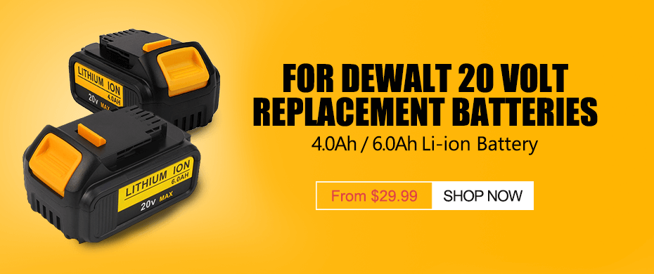 For Dewalt Batteries Category Drill