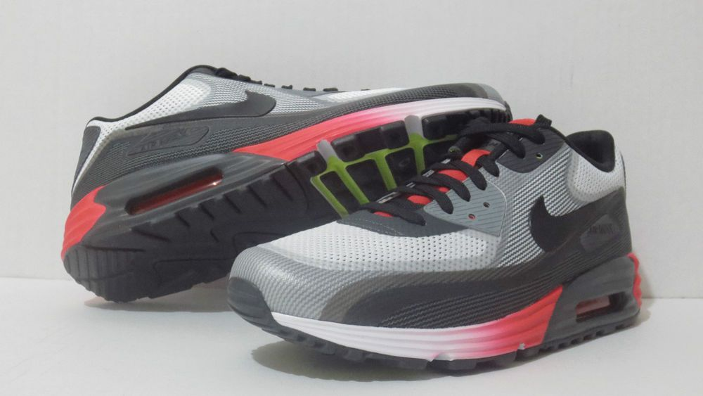 brand new 52003 c51c3 AIR MAX LUNAR90 C3.0 MENS Athletic Sneakers WHT BLK ANTRCT-VOLT 631744 100   nike  AthleticSneakers