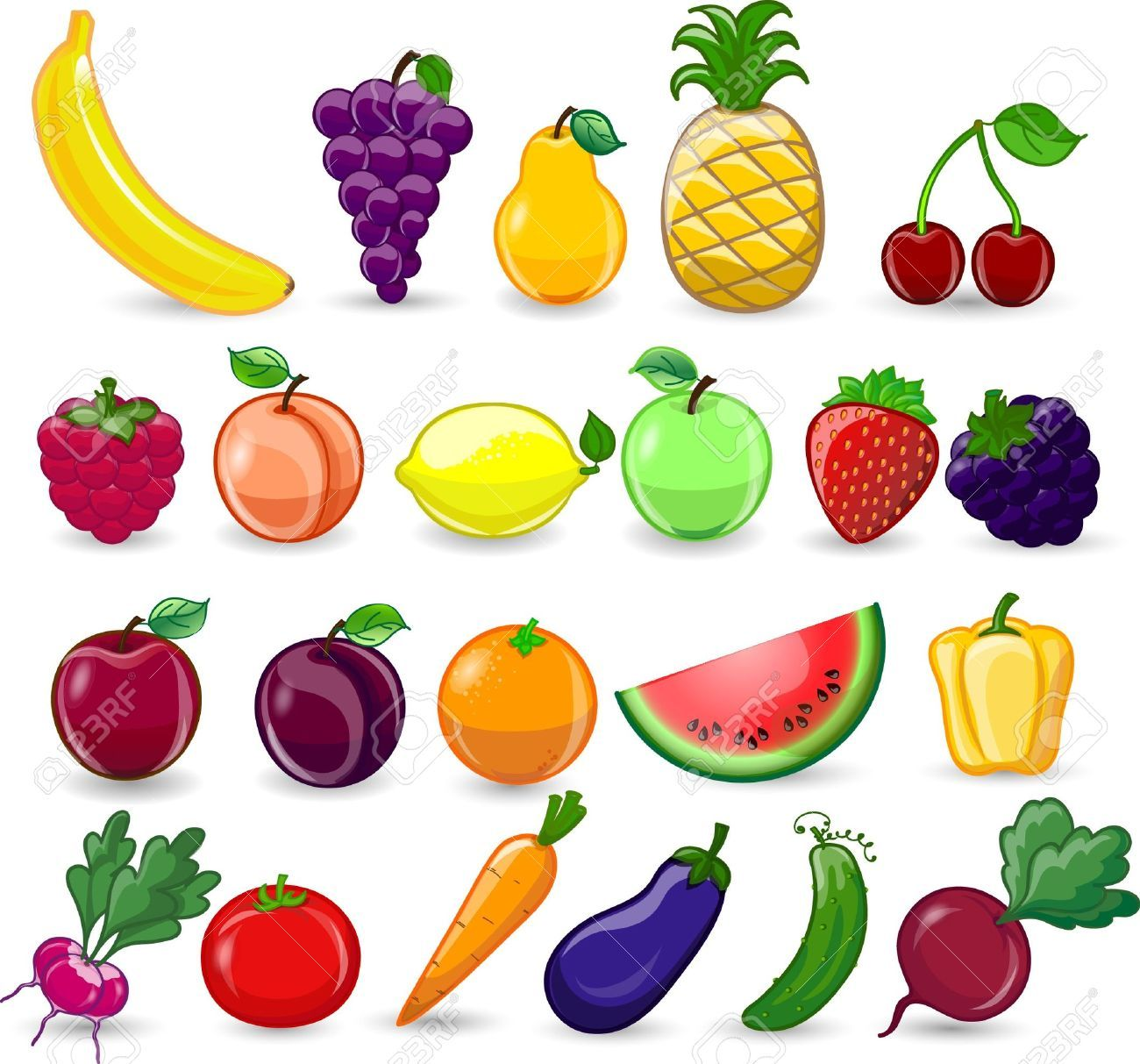 cute cartoon drawings of fruits - Google Search | Drawing ...