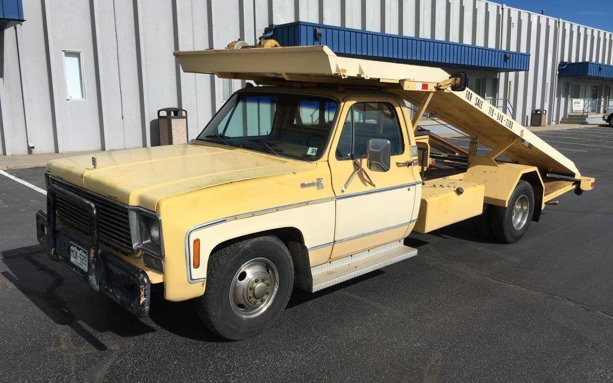 Ramp It Up 1978 Chevrolet Silverado C30 Hauler Chevy