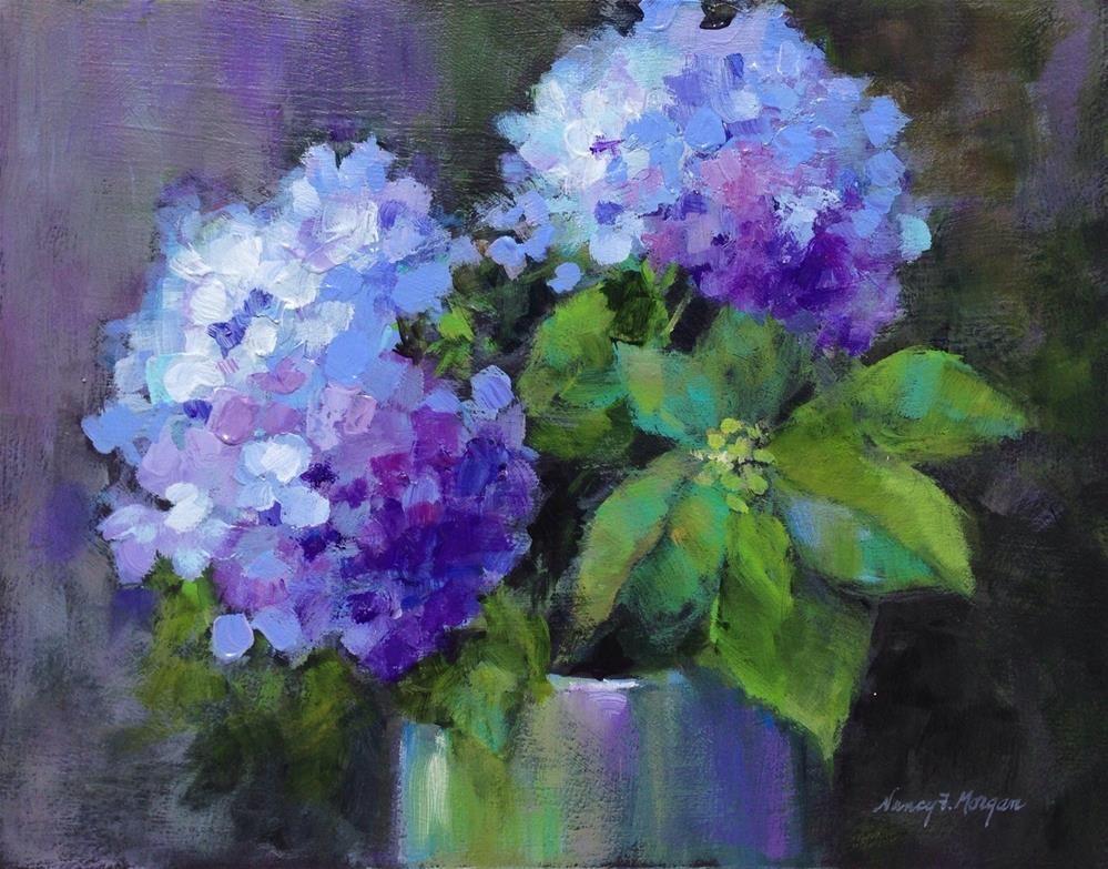 """Light and Shadow"" original fine art by Nancy F. Morgan"