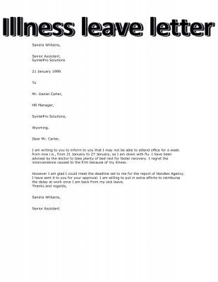 How to write illness leave letter stepbystep books literature how to write illness leave letter stepbystep spiritdancerdesigns Image collections