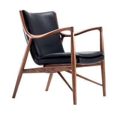 Model 45 finn juhl 1945 designer furniture pinterest - Modernes mobeldesign ...