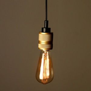Edison-Hooked-Mini-Pendant-Lighting-Fixture-Brass-Socket-Ceiling-Lamp-Chandelier
