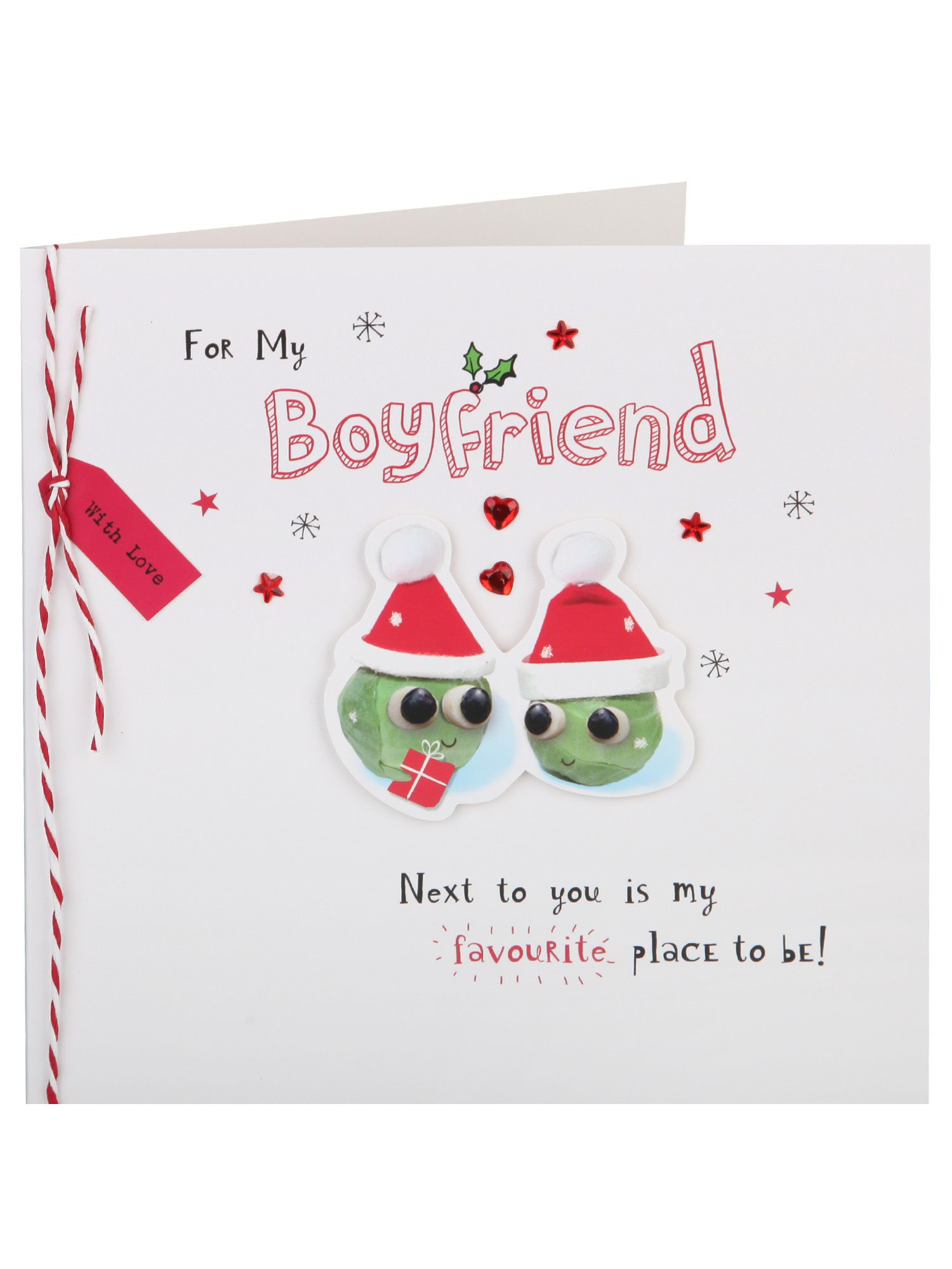cracker couple boyfriend christmas card christmas single cards christmas cards christmas clintons - Boyfriend Christmas Card