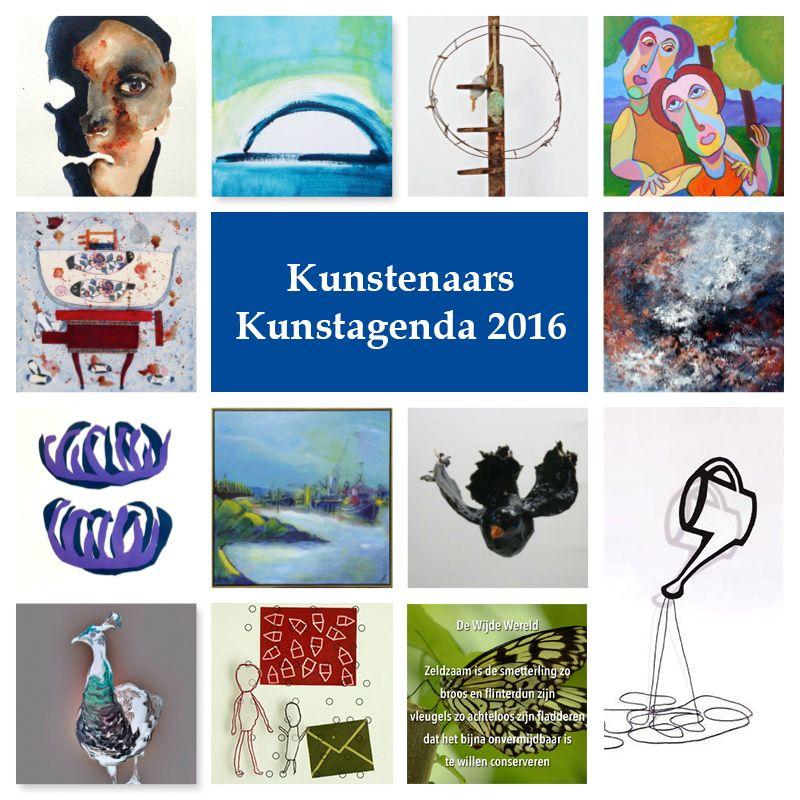 !4 deelnemers aan Kunstagenda 2016