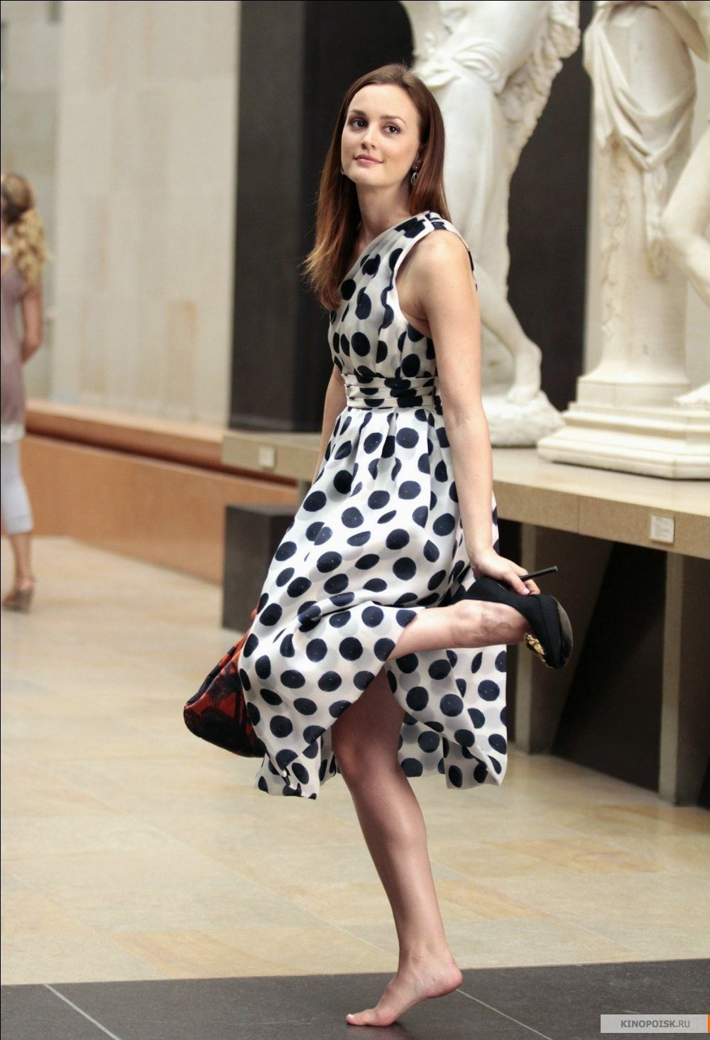 "Blair Waldorf wearing Bensoni in Paris in the episode "" Double Identity""......"