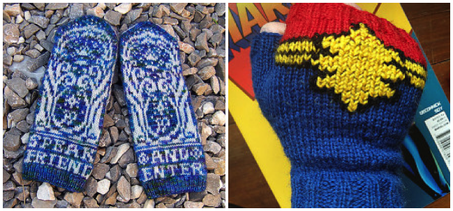 LitKnits: 22 Patterns for Literary Mittens