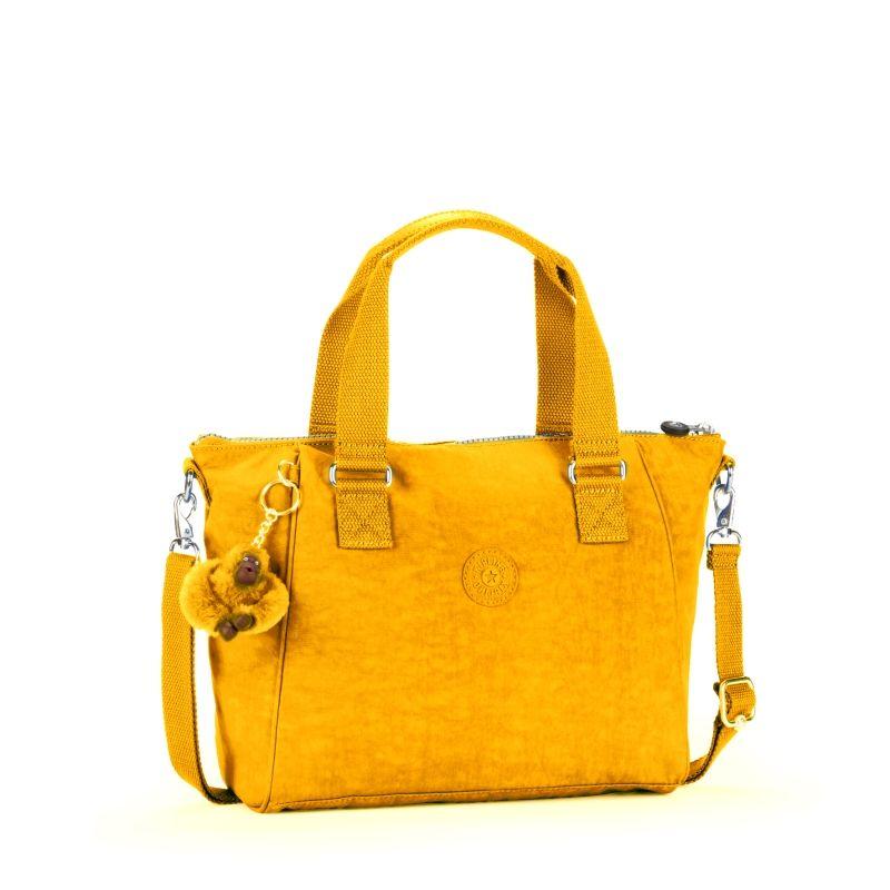 9592419c0 Bolsa de mão Amiel amarela Sunflower Kipling | Material | Kipling ...