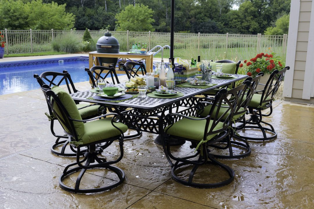 Outdoor Dining Space Requirements Dimensions Of Tables For