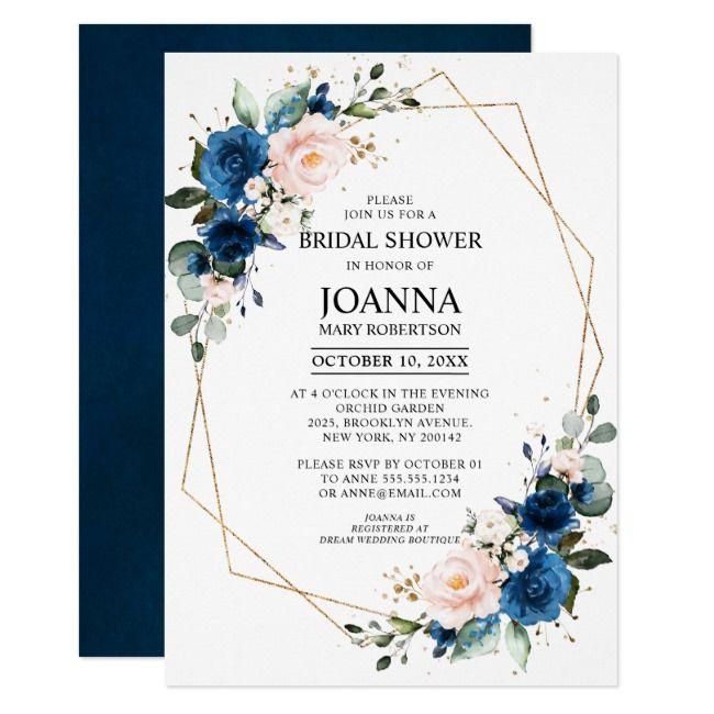 Create Your Own Invitation Zazzle Com Floral Wedding