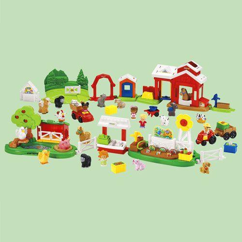 Little People Around The Farm Mega Set Farm Themed Party Farm