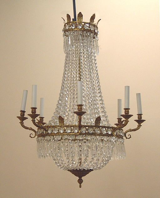 French antiques item 4115 antique french hanging crystal french antiques item 4115 antique french hanging crystal chandelier antique french audiocablefo