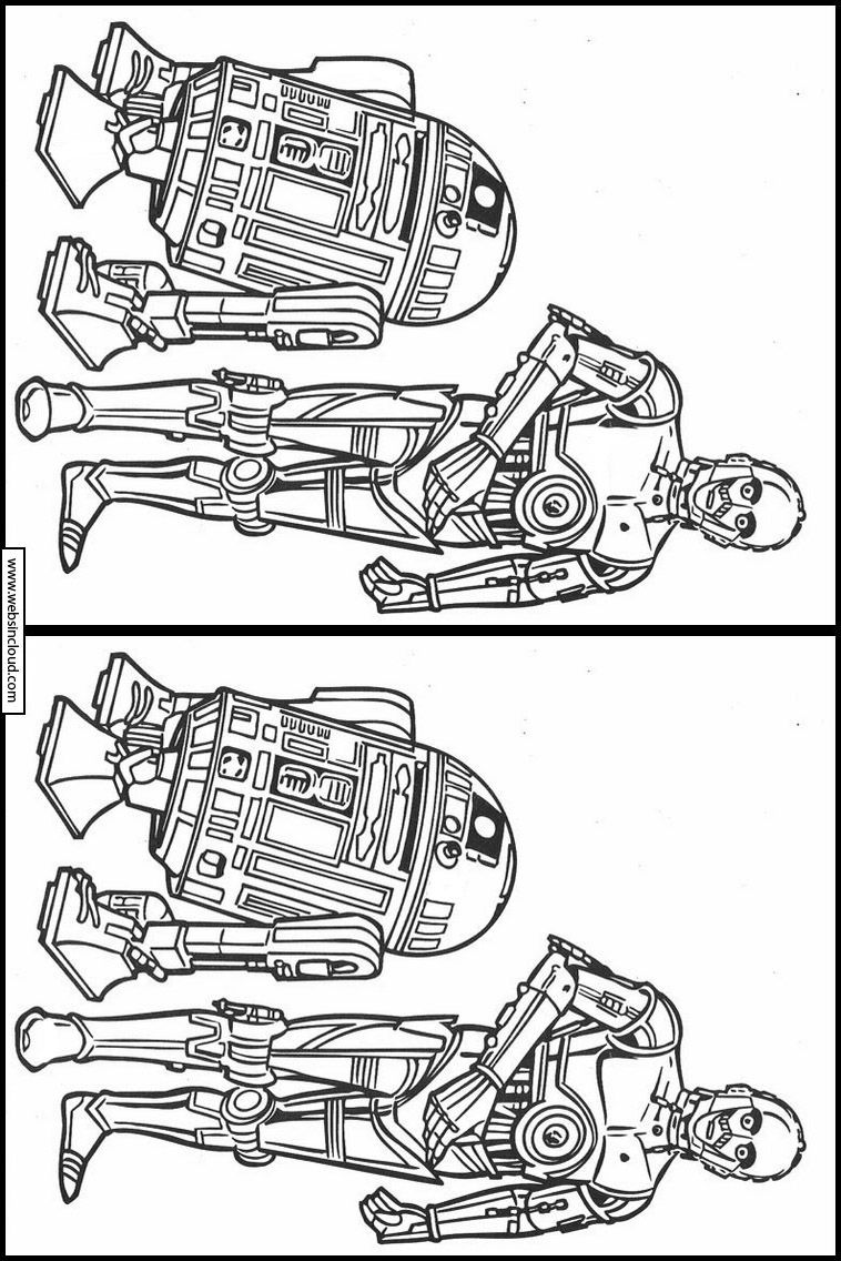 image regarding Star Wars Printable Activities identify Things to do for children printable. Track down the dissimilarities Star
