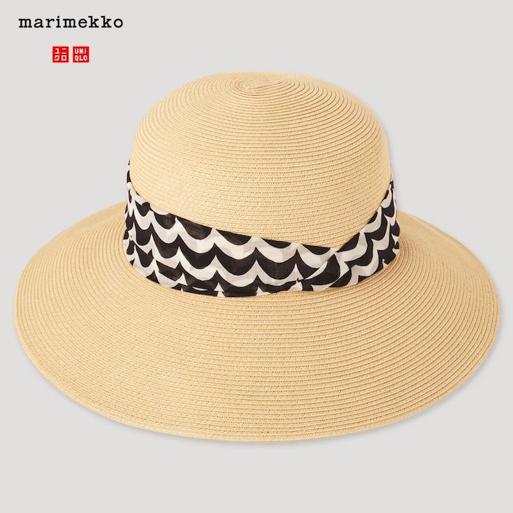 Women Uv Protection Paper Hat Marimekko Uniqlo Marimekko Paper Hat