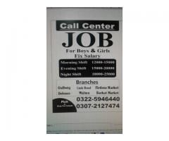 Call Center Jobs 4 Boys & Girls In Lahore please grab your