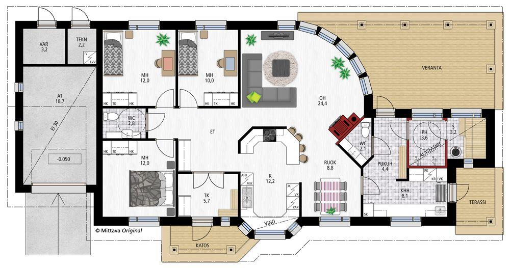 Oiva 125 » Yksilölliset, korkealaatuiset talopaketit osaavasti, edullisesti, nopeasti ja toimitusvarmasti