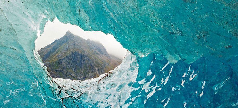 Engabreen Glacier, July 17, 2006.