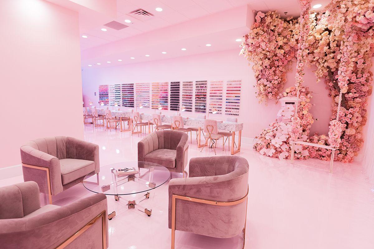 Sol Beauty Co Nail Bar Home Beauty Salon Salon Suites Decor Beauty Room Decor Red nail salon dubai read reviews and
