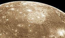 Callisto (moon) - Wikipedia | Jupiter moons, Impact crater ...