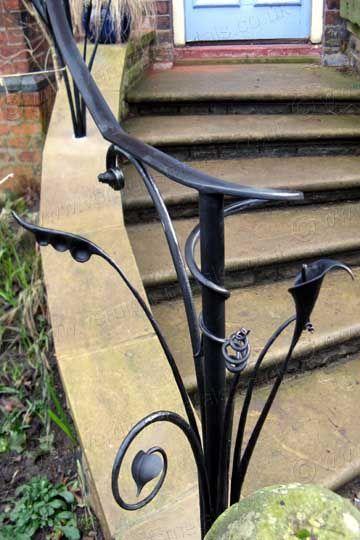 Outside Stair Handrails Jozef Custom Ironworks Iron Bronze