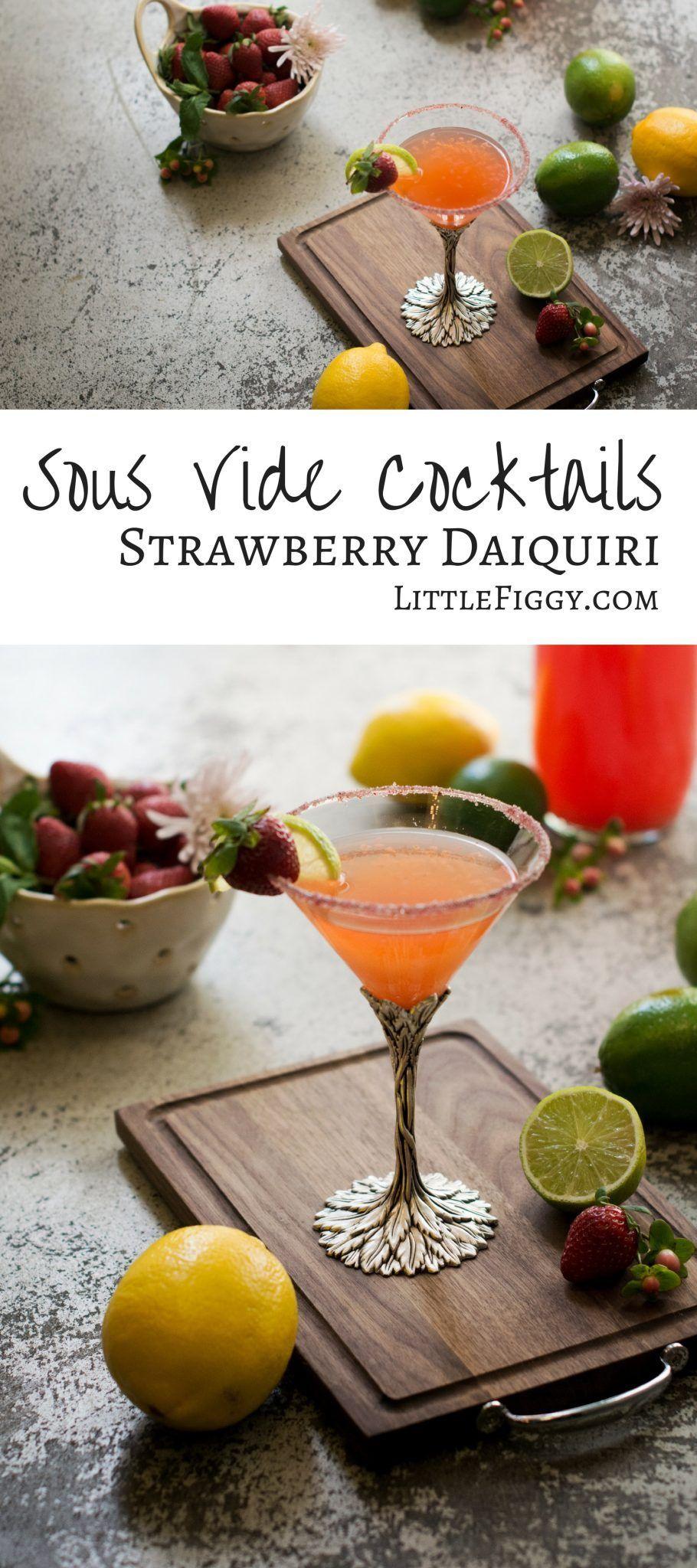 Verschiedene Strawberry Daiquiri Rezept Ideen Von Vide Cocktails: | | Get Drunk! |