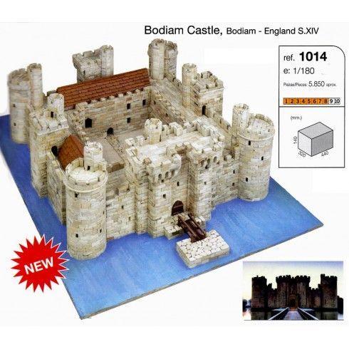 AEDES ARS 1014 - KIT MAQUETA PIEDRA CASTILLO BODIAM, IndalChess.com Tienda de juguetes online y juegos de jardin