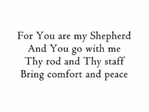 Psalm 23    Shannon is an instrument of God. He uses her to write songs that touch us and let us know that He loves us and that we given life through Him.