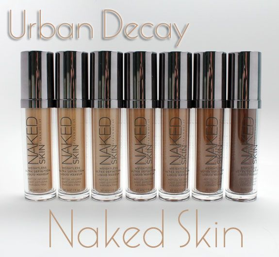 Urban Decay Naked Skin can't wait to try.