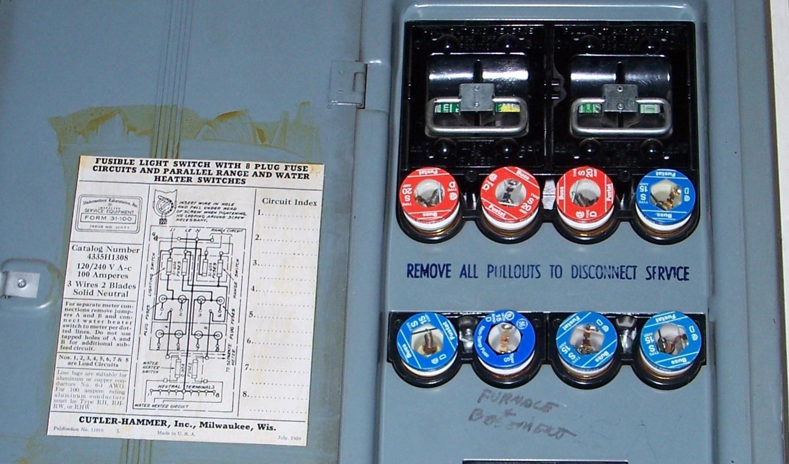100 Amp Panel Fuse Box in 2020 | Fuse box, Fuse panel ...