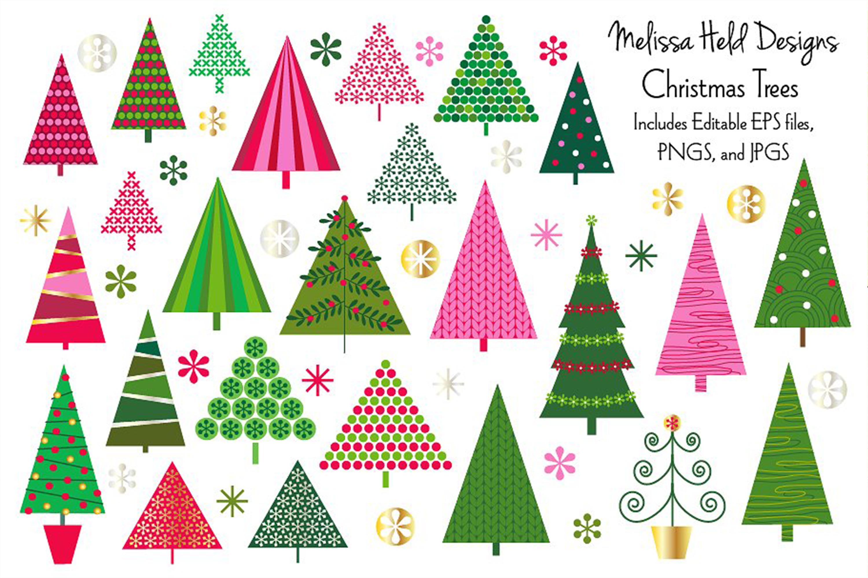 Christmas Trees Clipart Christmas tree clipart, Clip art