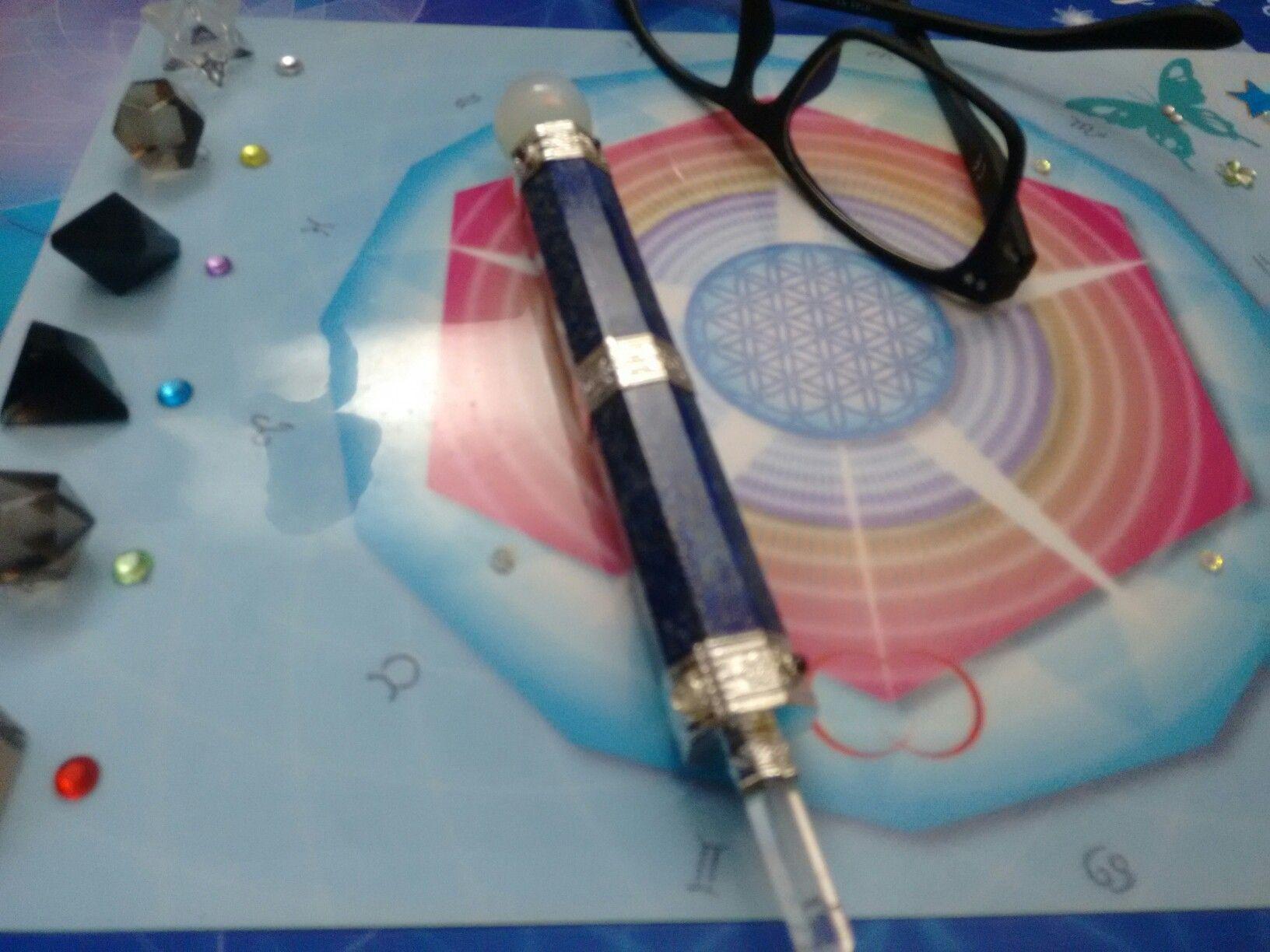 Rede Cristalina. Transformando o DNA em Luz!