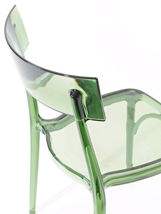 Milano 2015 Polypropylene Chair By Colico Design Bestetti Associati Studio Walter Colico Design Per Ristorante Sedia Trasparente Sedie