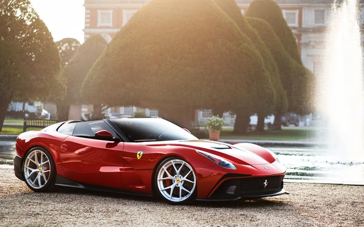 Download Wallpapers Ferrari F Trs Supercars K Italian Cars Ferrari