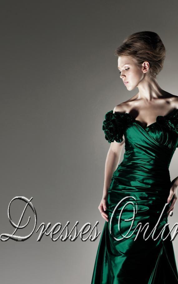 Kaufen Etui-Linie Bodenlanges Carmen-Ausschnitt Kleid Online - 101 - pro - 106120112a62