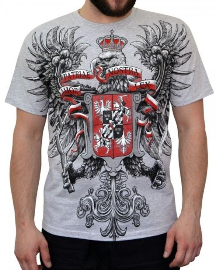 T-shirt patriotyczny 'Husaria - Amor Patriae Nostra Lex' HD